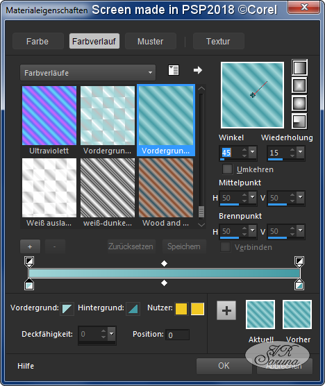 Screen Material-Palette